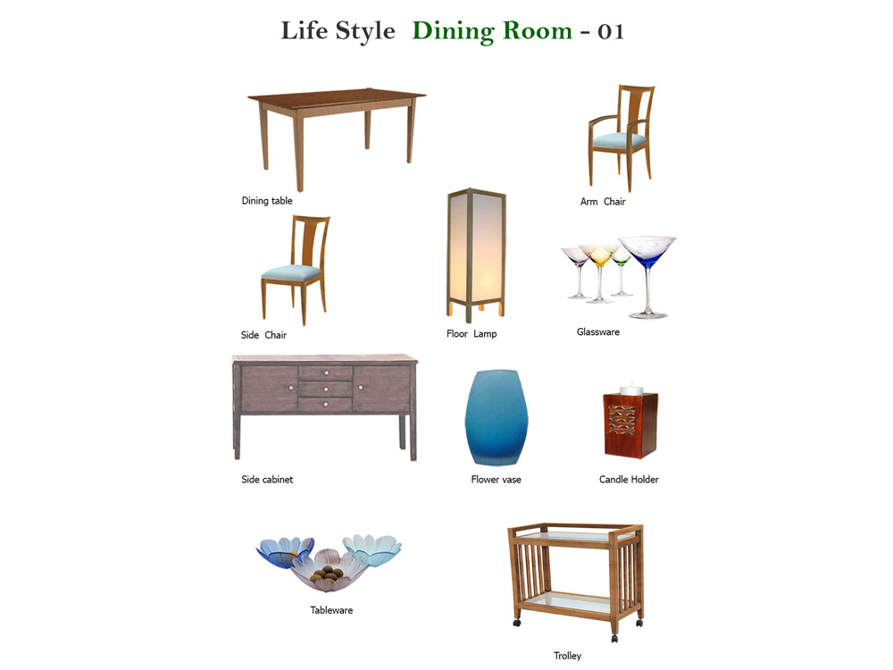 Dining room Life Style 01